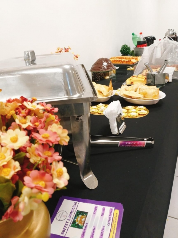 Buffet Café da Manhã Corporativo Brás - Buffet para Evento Corporativo