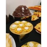 buffets para evento corporativo Glicério