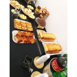 onde encontrar buffet em evento corporativo Vila Buarque